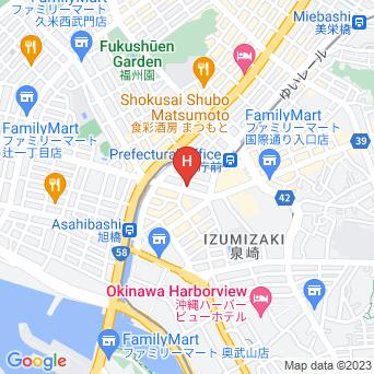コンフォートホテル那覇県庁前の地図