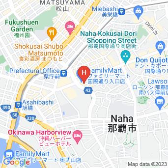 ホテルロコアナハの地図