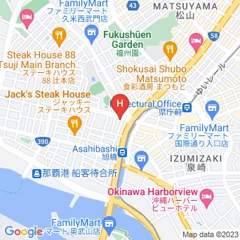 GRGホテル那覇東町の地図