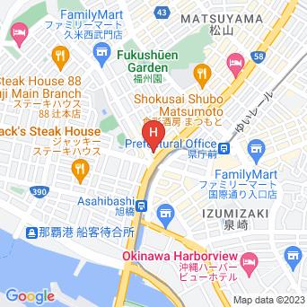 東横イン那覇旭橋駅前の地図