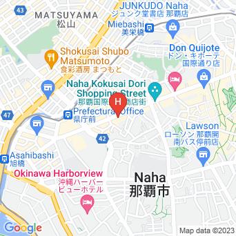 ホテルグレイスリー沖縄の地図