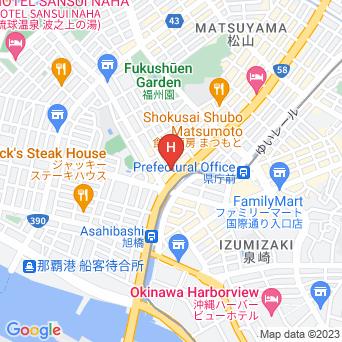 沖縄ナハナ・ホテル&スパの地図