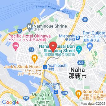 西鉄リゾートイン那覇の地図