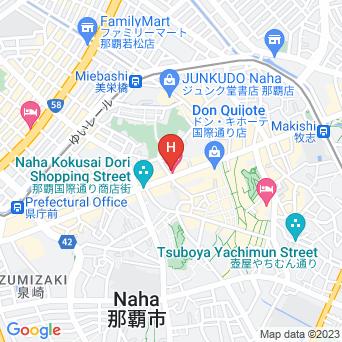ホテルJALシティ那覇の地図
