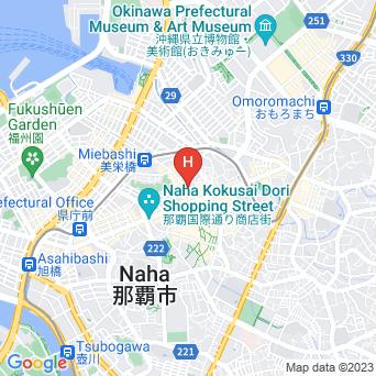 JR九州ホテルブラッサム那覇の地図