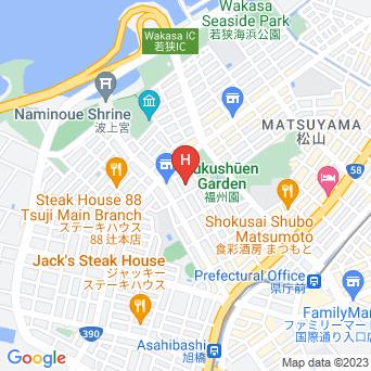 スマイルホテル那覇シティリゾートの地図