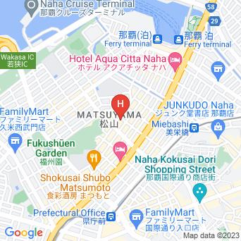 GRGホテル那覇の地図