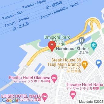 那覇ビーチサイドホテルの地図