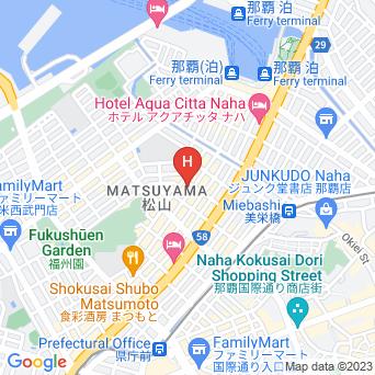 ホテルブライオン那覇の地図