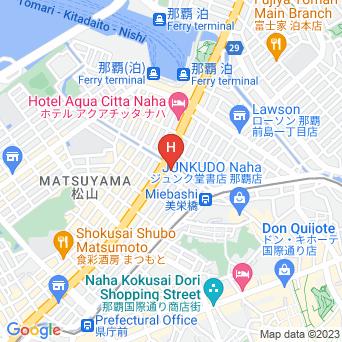 リッチモンドホテル那覇久茂地の地図