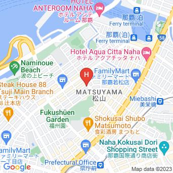 ロコイン沖縄の地図