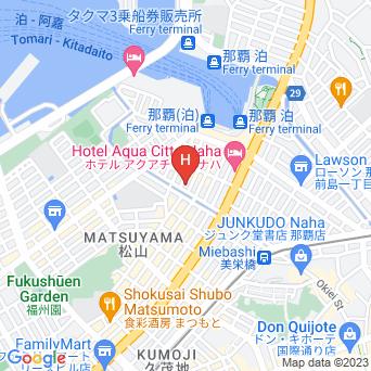 ホテルリゾネックス那覇の地図