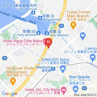 ホテルルートイン那覇泊港の地図