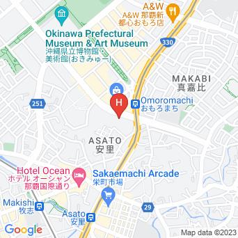 東横イン 那覇おもろまち駅前の地図