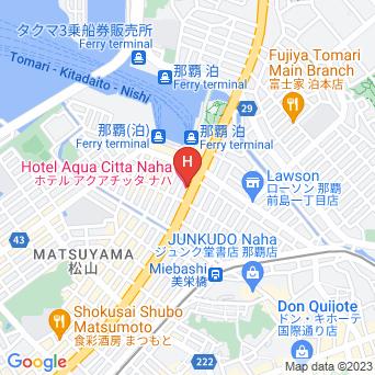 ホテルアクアチッタナハ/ホテルWBF那覇の地図