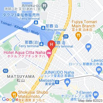 スマイルホテル沖縄那覇の地図