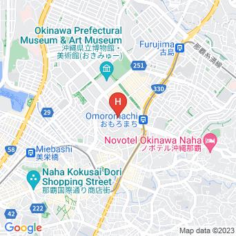ダイワロイネットホテル那覇おもろまちの地図