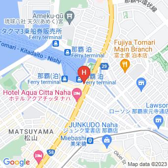 沖縄かりゆしアーバンリゾート ナハの地図