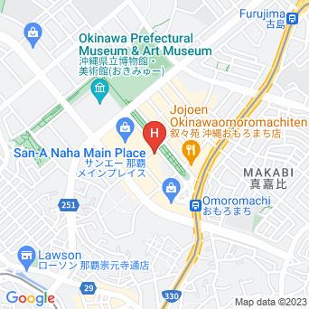 ホテル法華クラブ那覇・新都心の地図