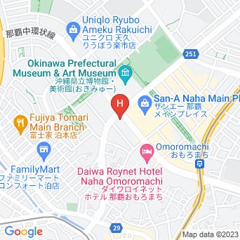 東横イン 那覇新都心おもろまちの地図