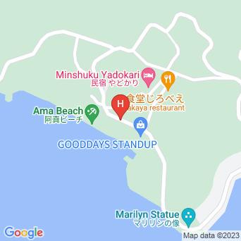 コテージ海の茶屋の地図