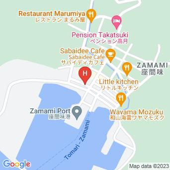 ダイブイン浜の地図