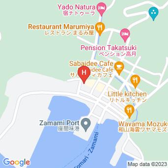 民宿米子の地図