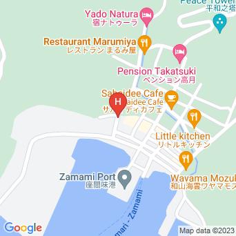 民宿座間味荘の地図