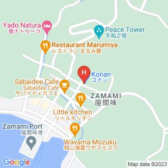 民宿南星荘の地図