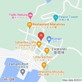 島宿あかばなーの地図