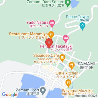 沖縄リゾートの地図