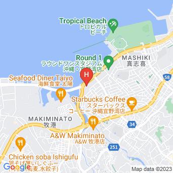 ムーンオーシャン宜野湾ホテル&レジデンスの地図