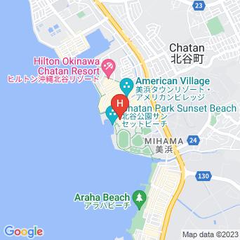 ザ・ビーチタワー沖縄の地図