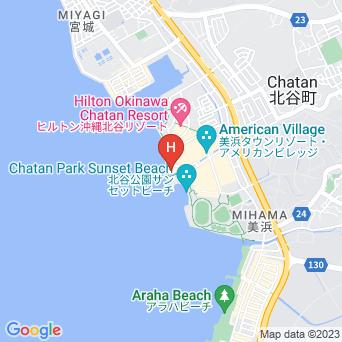 ベッセルホテルカンパーナ沖縄の地図
