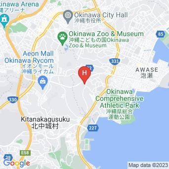 オキナワ グランメールリゾートの地図