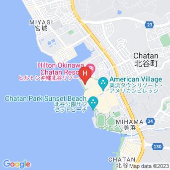 ダブルツリー・バイ・ヒルトン 沖縄北谷リゾートの地図