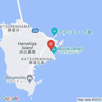 ホテル浜比嘉島リゾート/マリンリゾートホテル浜比嘉の地図