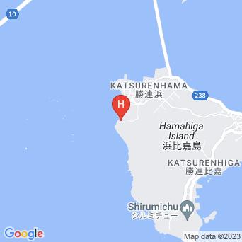 413はまひがホテル&カフェの地図