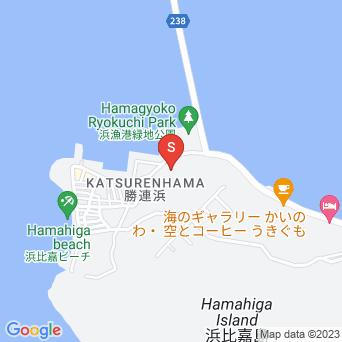 サザンホープ浜比嘉/カフェ サザンホープの地図