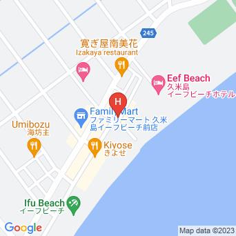 シーサイドハウスジュゴンの地図