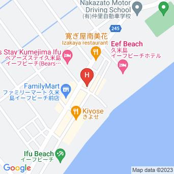 民宿黒潮の地図