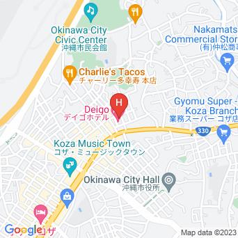 デイゴホテルの地図