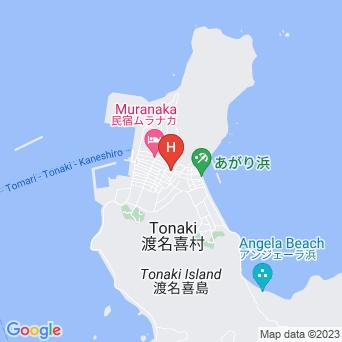赤瓦の宿 ふくぎ屋の地図