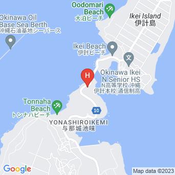 ペンション山と海の地図