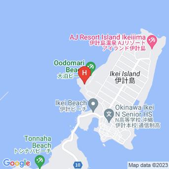 コテージ伊計 海の唄の地図