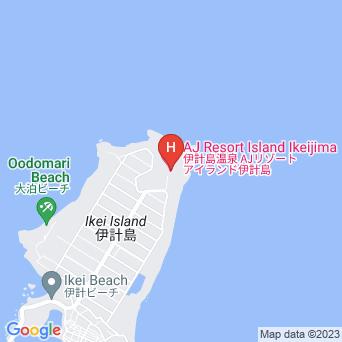 AJリゾートアイランド伊計島の地図