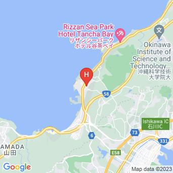 恩納マリンビューパレスの地図
