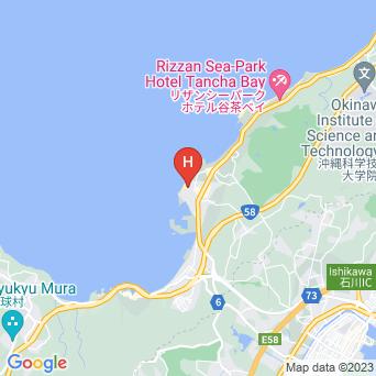 ムーンビーチパレスホテルの地図