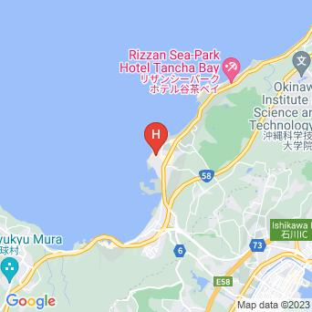 ホテルムーンビーチの地図