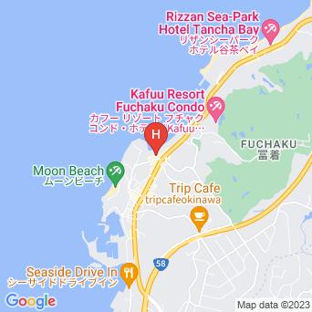 ホテルモントレ沖縄 スパ&リゾートの地図
